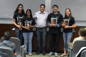 The Lincoln High School Math Team took 1st Place at Pacific's Fifth Annual High School Math Competition.
