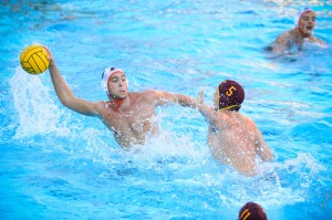 Pacific's Men's Water Polo team at the 2013 NCAA Finals