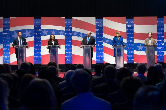 CA Senate Debate Candidates