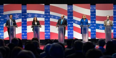 senate debate candidates